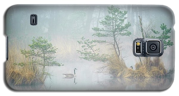 Geese Galaxy S5 Case - Hide And Seek by Andrew George