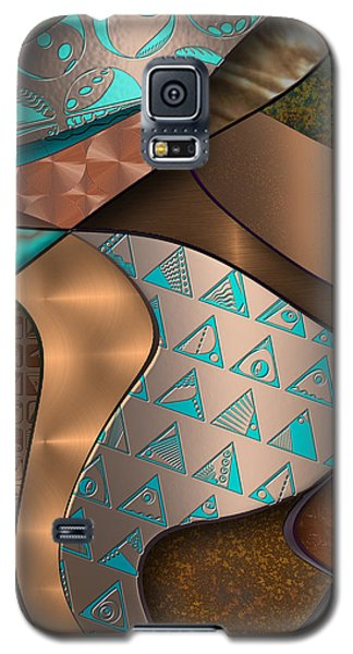 Hieroquoise Cupriglyphs Galaxy S5 Case