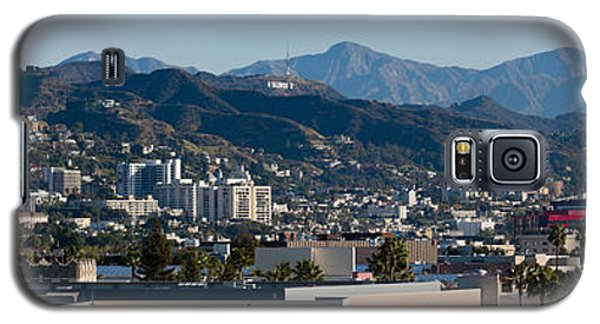 High Angle View Of A City, Beverly Galaxy S5 Case by Panoramic Images