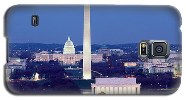 High Angle View Of A City, Washington Galaxy S5 Case by Panoramic Images