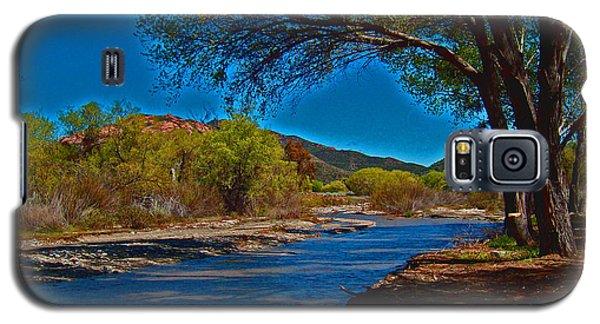 High Desert River Bed Galaxy S5 Case