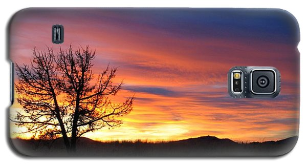 Galaxy S5 Case featuring the photograph High Desert Sunset by Kevin Desrosiers