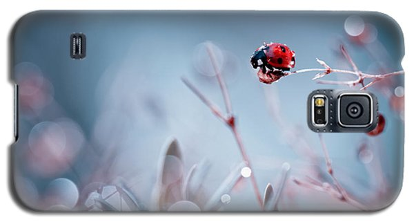 Ladybug Galaxy S5 Case - High Diving by Fabien Bravin