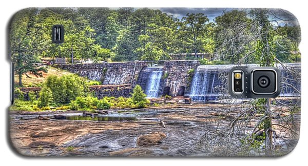 Galaxy S5 Case featuring the photograph High Falls Dam by Donald Williams