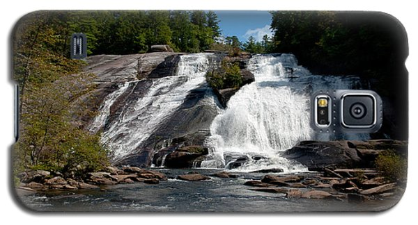 Galaxy S5 Case featuring the photograph High Falls North Carolina by Charles Beeler
