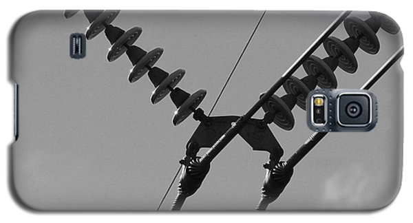 Galaxy S5 Case featuring the photograph High Power Lines - 3 by Kenny Glotfelty