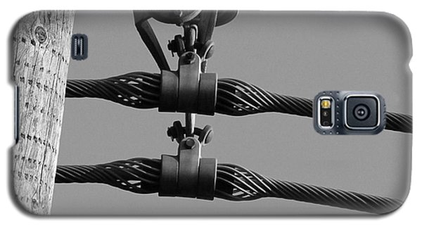 Galaxy S5 Case featuring the photograph High Power Lines - 5 by Kenny Glotfelty