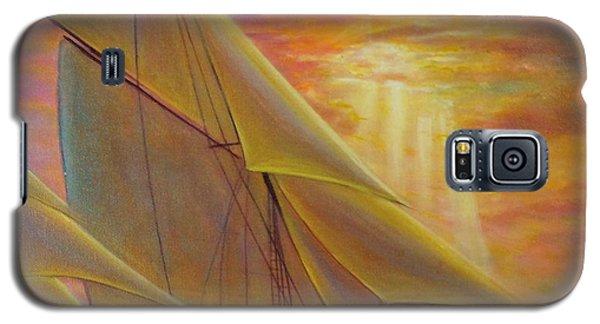 High Seas Sunset Galaxy S5 Case