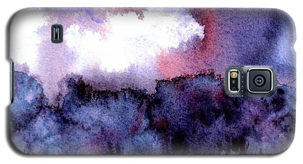 Galaxy S5 Case featuring the painting High Valley Weather by Anne Duke