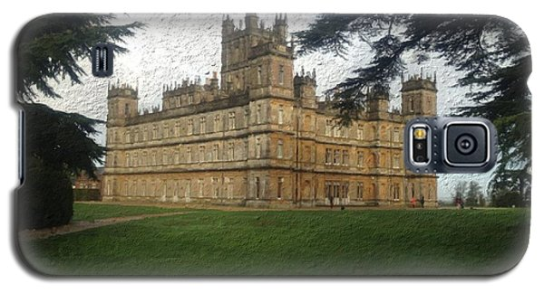 Highclere Castle Downton Abbey 2 Galaxy S5 Case by John Colley