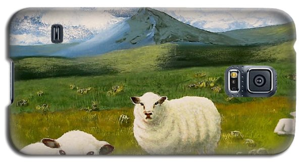 Highlands Sheep Galaxy S5 Case by Tim Townsend