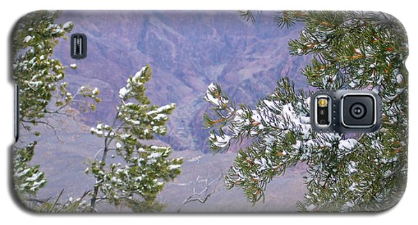 Galaxy S5 Case featuring the photograph Highlighting Snow by Roberta Byram
