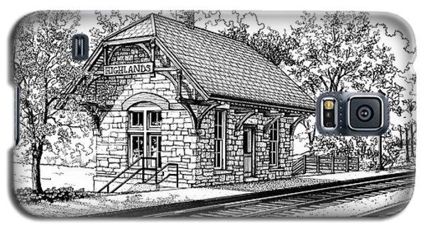 Highlands Train Station Galaxy S5 Case