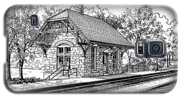 Highlands Train Station Galaxy S5 Case