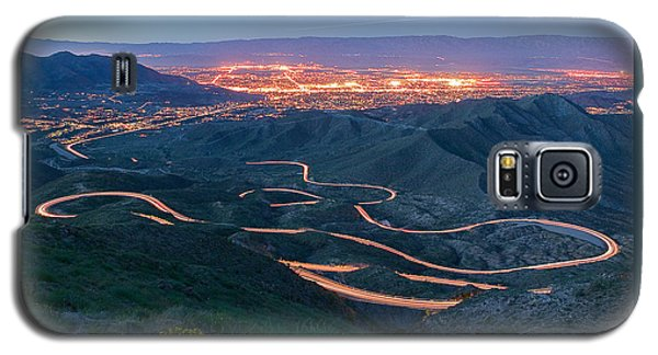 Highway 74 Palm Desert Ca Vista Point Light Painting Galaxy S5 Case