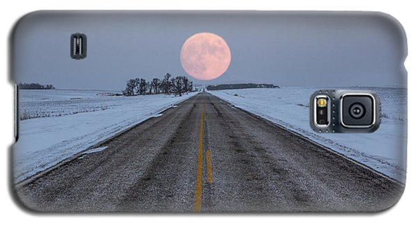 Highway To The Moon Galaxy S5 Case