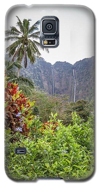 Hiilawe And Hakalaoa Falls Galaxy S5 Case