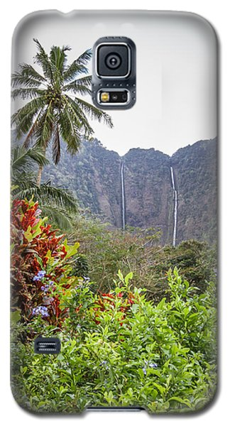 Hiilawe And Hakalaoa Falls Galaxy S5 Case