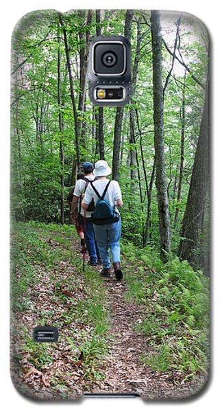 Hiking Group Galaxy S5 Case by Melinda Fawver