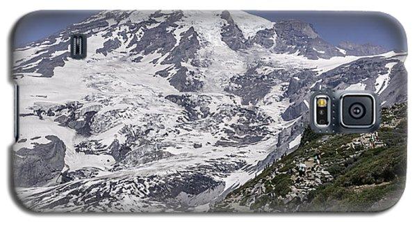 Hiking Mt Rainier Galaxy S5 Case
