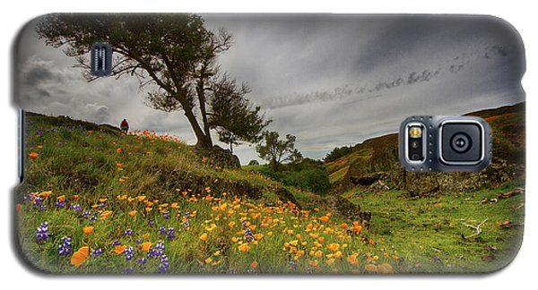 Hiking On Table Mountain Galaxy S5 Case