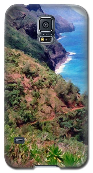 Trail To Kalalau Galaxy S5 Case