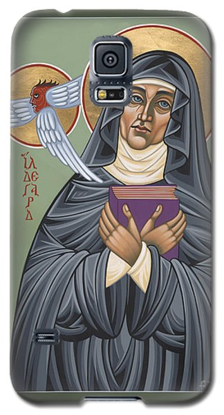 Galaxy S5 Case featuring the painting St. Hildegard Of Bingen 171 by William Hart McNichols