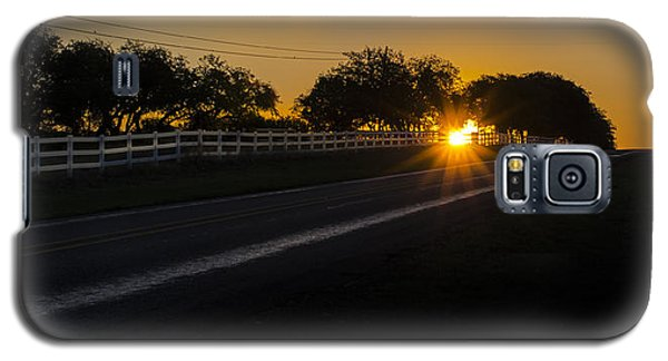 Hill Country Sunrise 2 Galaxy S5 Case by Debbie Karnes