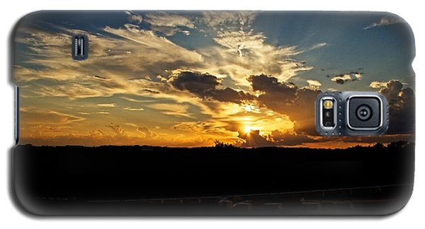 Hill Country Sunset Galaxy S5 Case by Dave Files