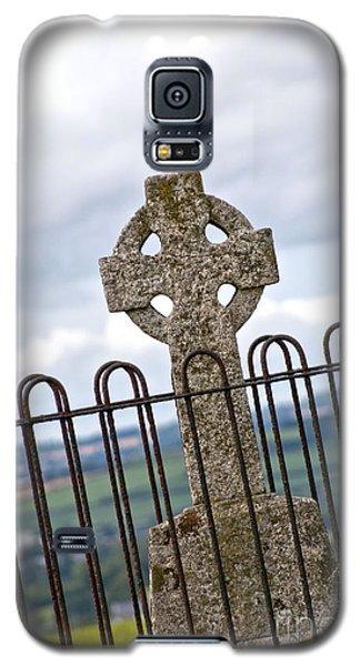 Hill Of Tara Celtic Cross Galaxy S5 Case