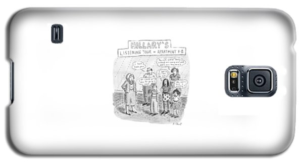 'hillary's Listening Tour Of Apartment 8-b' Galaxy S5 Case by Roz Chast