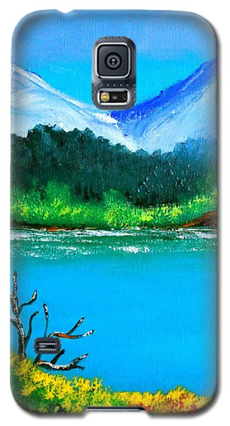 Hills By The Lake Galaxy S5 Case