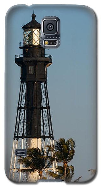 Hillsboro Inlet Lighthouse In The Evening Galaxy S5 Case by Ed Gleichman