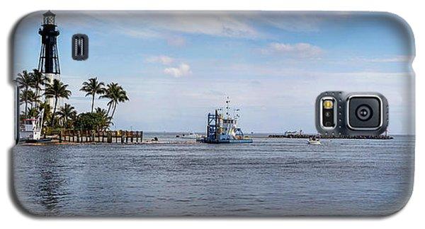 Hillsboro Inlet Lighthouse Panorama Galaxy S5 Case