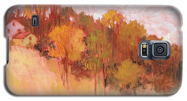 Hillside Trees Galaxy S5 Case