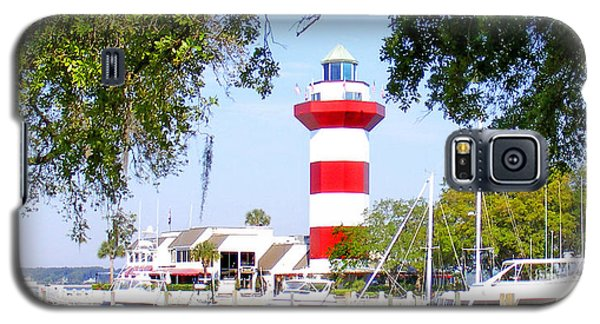 Hilton Head Lighthouse And Marina Galaxy S5 Case