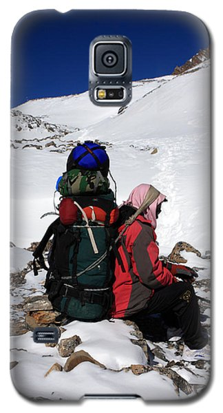 Himalayan Porter, Nepal Galaxy S5 Case