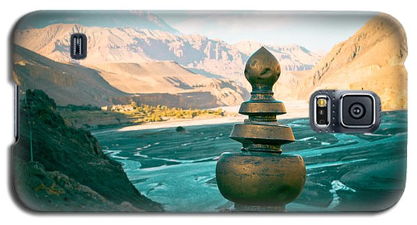 Himalayas Road To Upper Mustang  From Kagbeni Galaxy S5 Case