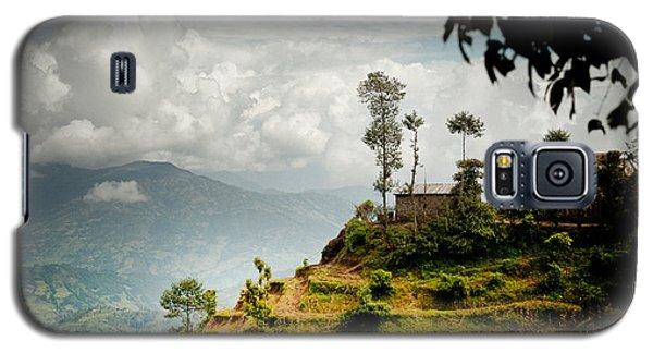 Galaxy S5 Case featuring the photograph Himalayas Terrace Raimond Klavins Fotografika.lv by Raimond Klavins