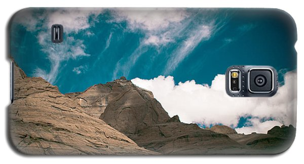 Himalyas Mountains In Tibet With Clouds Galaxy S5 Case
