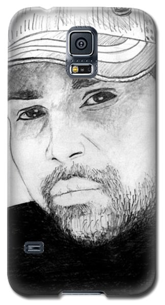 Galaxy S5 Case featuring the painting Himesh Reshammiya by Salman Ravish