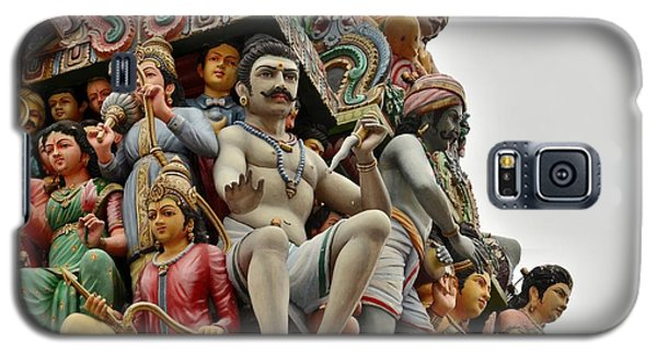 Hindu Gods And Goddesses At Temple Galaxy S5 Case