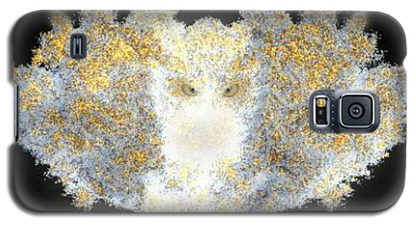 Galaxy S5 Case featuring the digital art Hint Of Owl by Steed Edwards