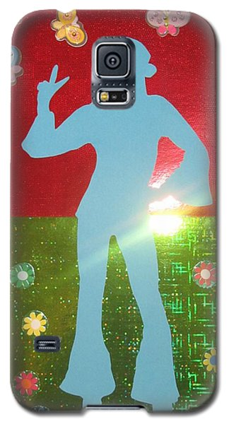 Hippie Girl Galaxy S5 Case