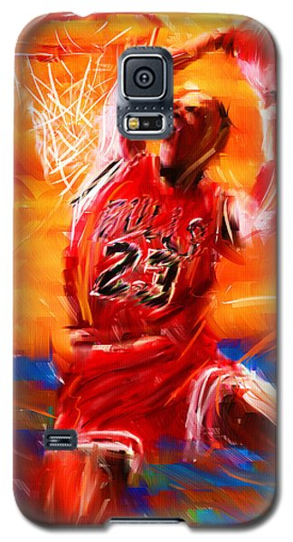 His Airness Galaxy S5 Case by Lourry Legarde