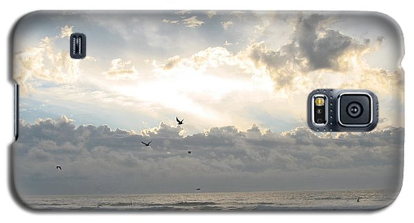 Galaxy S5 Case featuring the photograph His Glory Shines by Judith Morris