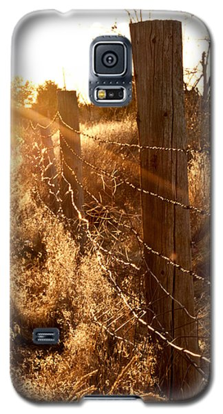 Galaxy S5 Case featuring the photograph His Light by Jessica Tookey