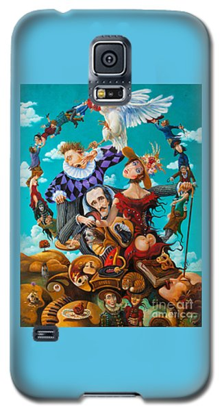 His Majesty Edgar Allan Poe Galaxy S5 Case