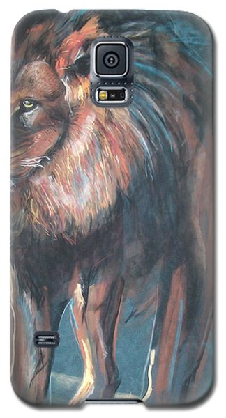 Galaxy S5 Case featuring the pastel His Majesty by Peter Suhocke