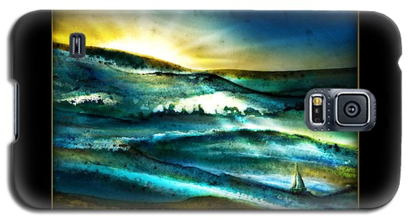 Galaxy S5 Case featuring the painting His Mercies Are New Every Morning by Shevon Johnson